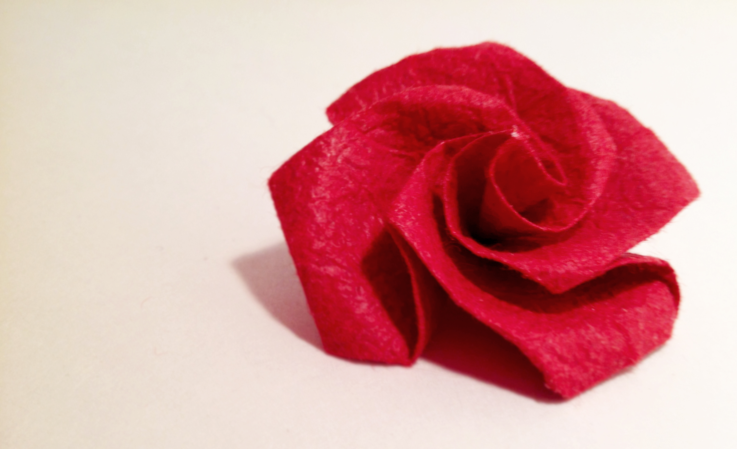 Origami rose by Carrie Gates