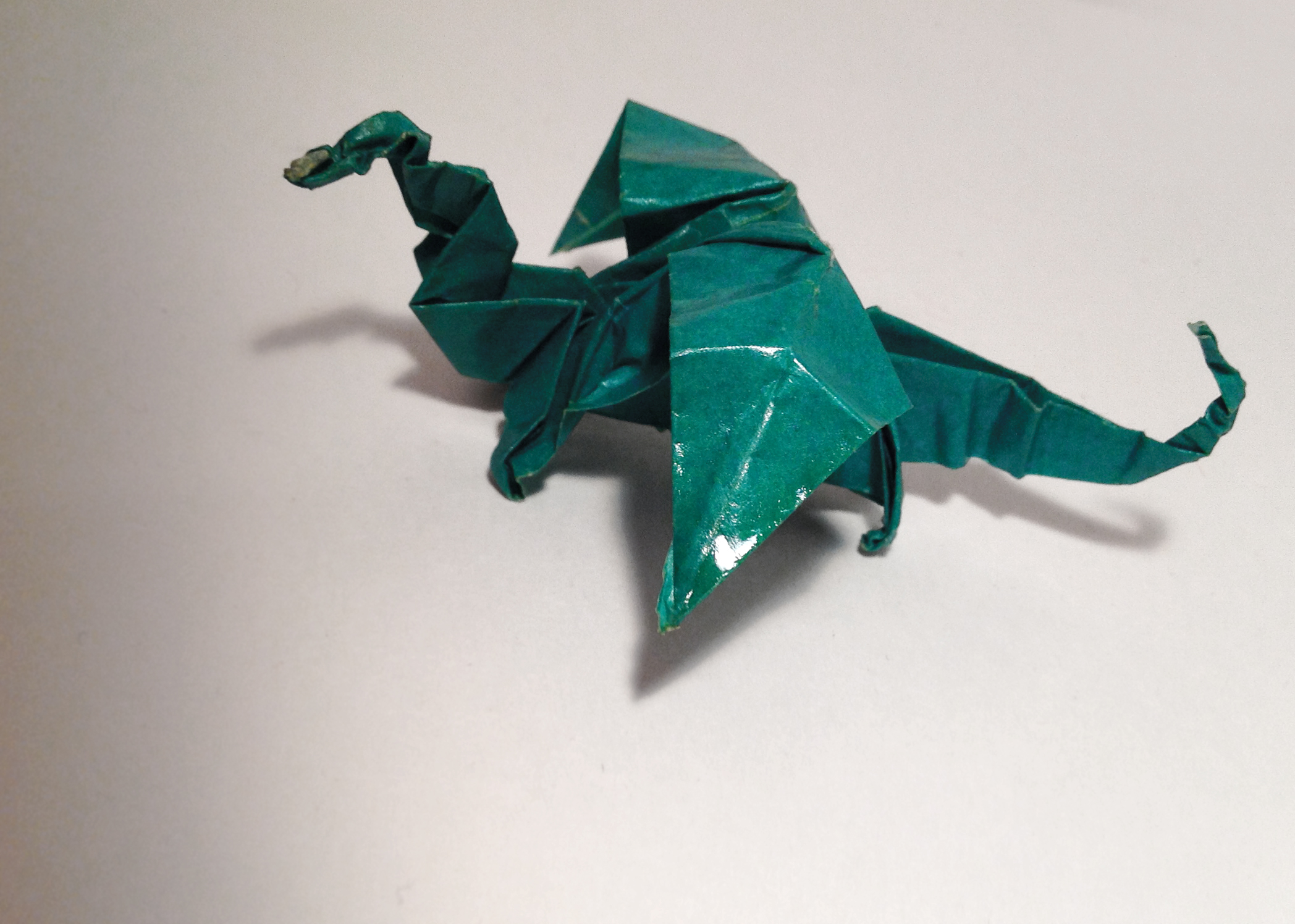 Dragon Origami by Carrie Gates