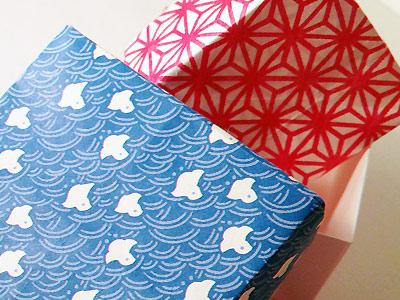 Patterned Washi Boxes