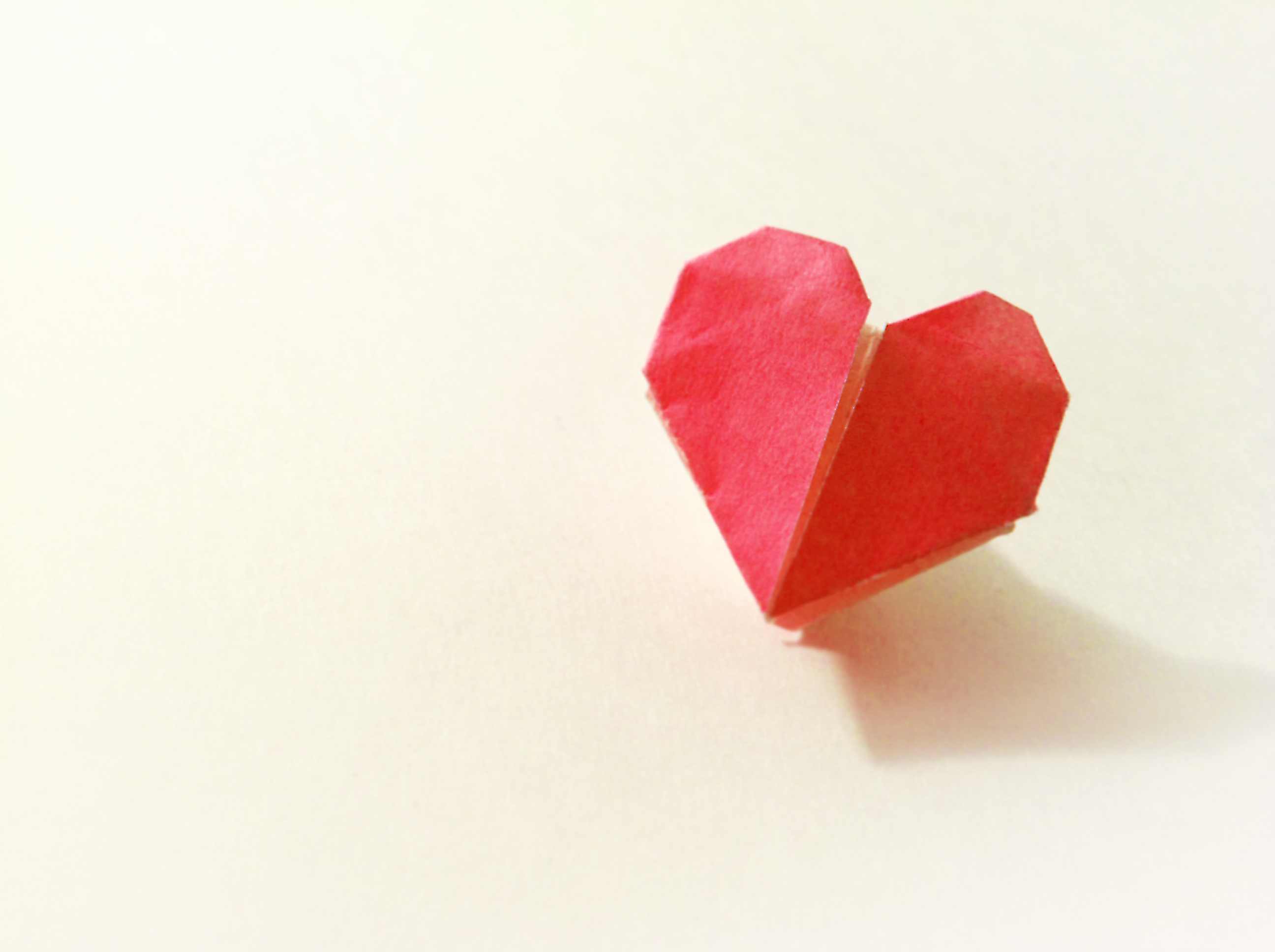 Tiny Heart Origami by Carrie Gates