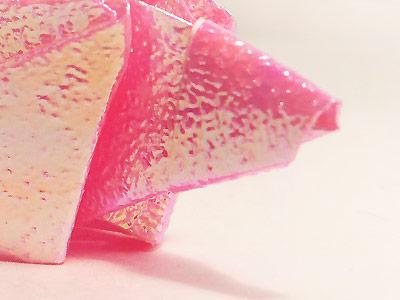 Pink Iridescent Fish
